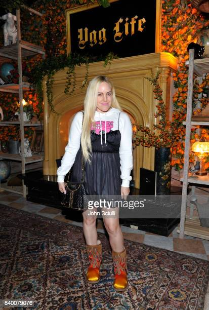 Sam Beckerman at UGG x Jeremy Scott Collaboration Launch Event at The hwood Group's 'Poppy' on August 27 2017 in West Hollywood California