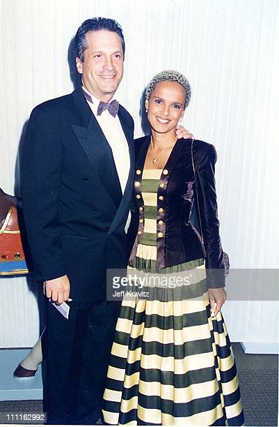 Sam Behrens and Shari Belafonte during 1996 Carousel of Hope in Los Angeles California United States