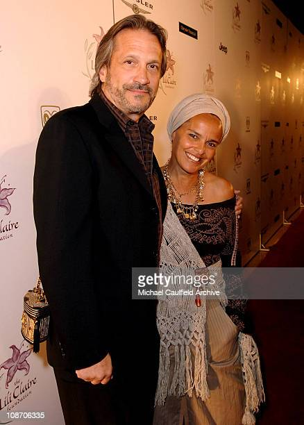 Sam Behrens and wife Shari Belafonte during 8th Annual Lili Claire Foundation Benefit Red Carpet at The Beverly Hilton in Beverly Hills California...