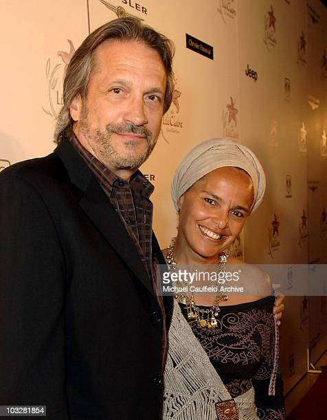 Sam Behrens and wife Shari Belafonte