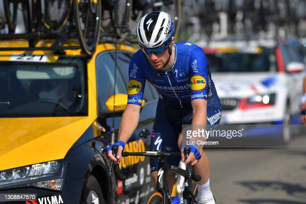 Sam Bennett of Ireland and Team Deceuninck - Quick-Step during the 45th Oxyclean Brugge - De Panne 2021, Men Classic a 203,9km race from Brugge to De...