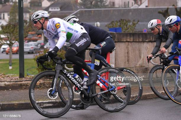 Sam Bennett of Ireland and Team Deceuninck - Quick-Step / during the 78th Paris - Nice 2020, Stage 3 a 212,5km stage from Chalette-sur-Loing to La...