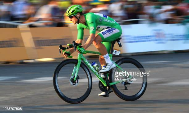 Sam Bennett of Ireland and Team Deceuninck - Quick-Step Green Points Jersey / during the 107th Tour de France 2020, Stage 21 a 122km stage from...