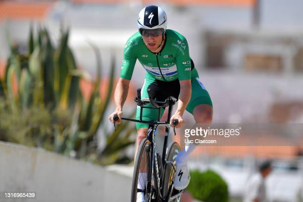 Sam Bennett of Ireland and Team Deceuninck - Quick-Step Green Points Jersey during the 47th Volta Ao Algarve 2021, Stage 4 a 20,3km Individual Time...