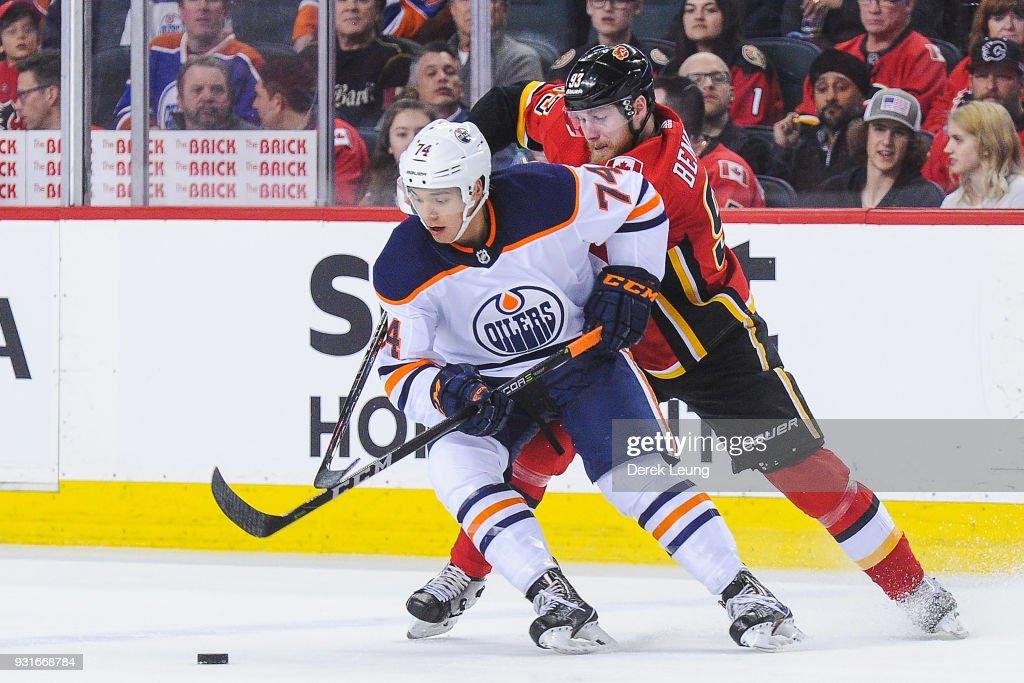 Edmonton Oilers v Calgary Flames : News Photo