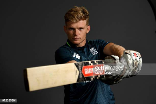 Sam Billings of England poses for a portrait at The Kia Oval on June 12 2018 in London England