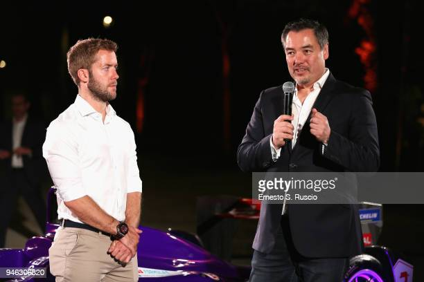 Sam Bird and Alex Tai attend Racing Goes Green an event organized by Kaspersky Lab Official Sponsor of DS Virgin Racing Team to celebrate the Formula...