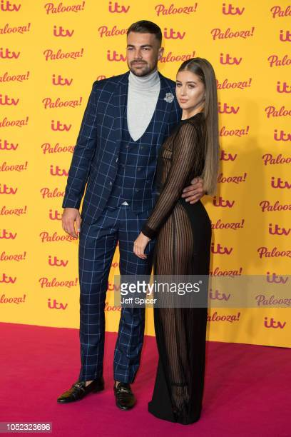Sam Bird and Georgia Steel attend the ITV Palooza held at The Royal Festival Hall on October 16 2018 in London England