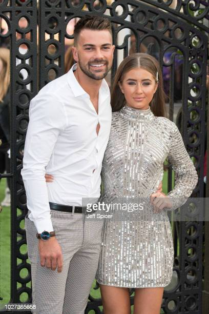 """Sam Bird and Georgia Steel attend the World Premiere of """"The House With The Clock In Its Walls"""" at Westfield White City on September 5, 2018 in..."""