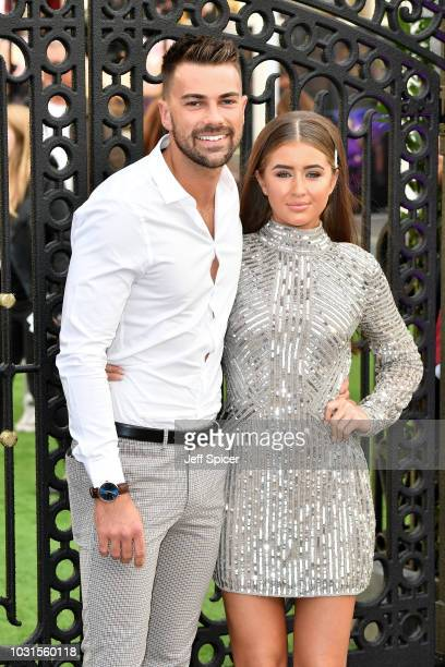 """Sam Bird and Georgia Steel attend the World Premiere of """"The House With The Clock In Its Walls"""" at Westfield White City on September 05, 2018 in..."""