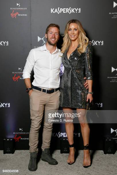 Sam Bird and Hollie Harrington attend at Racing Goes Green an event organized by Kaspersky Lab Official Sponsor of DS Virgin Racing Team to celebrate...
