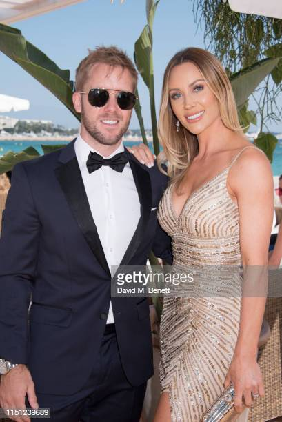 Sam Bird and Hollie HarringtonBird attend a cocktail party hosted by Alejandro Agag ahead of the World Premiere of the Formula E documentary And We...
