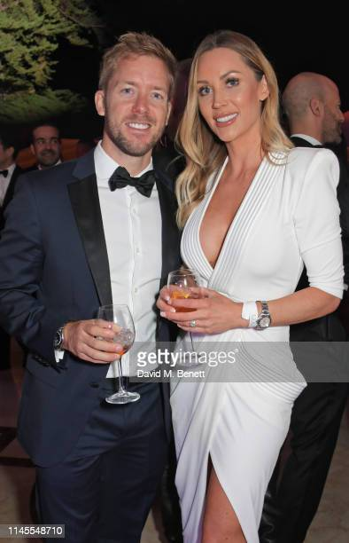 Sam Bird and Hollie HarringtonBird attend a private dinner hosted by Alejandro Agag to celebrate the World Premiere of Formula E documentary And We...