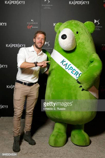 Sam Bird attends at Racing Goes Green an event organized by Kaspersky Lab Official Sponsor of DS Virgin Racing Team to celebrate the Formula E race...