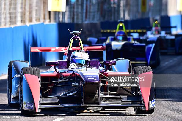 Sam Bird of DS Virgin Racing Formula E Team during the Buenos Aires ePrix as part of 20152016 FIA Formula E Championship at Puerto Madero Street Race...