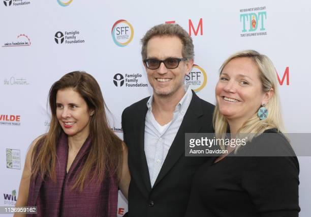 Sam Bisbee and guests attend the 2019 Sarasota Film Festival on April 12 2019 in Sarasota Florida
