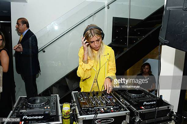 Sam Blacky attends ARYA Curcumin Presents The Yellow Social at Private Residence on August 20 2016 in Los Angeles California