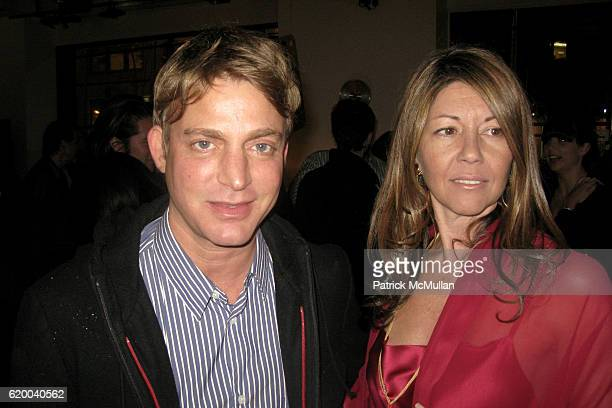 Sam Bolton and Sally Randall Brunger attend BoConcept and KolDesign Asian Holiday Party at BoConcept on December 16 2008 in New York City