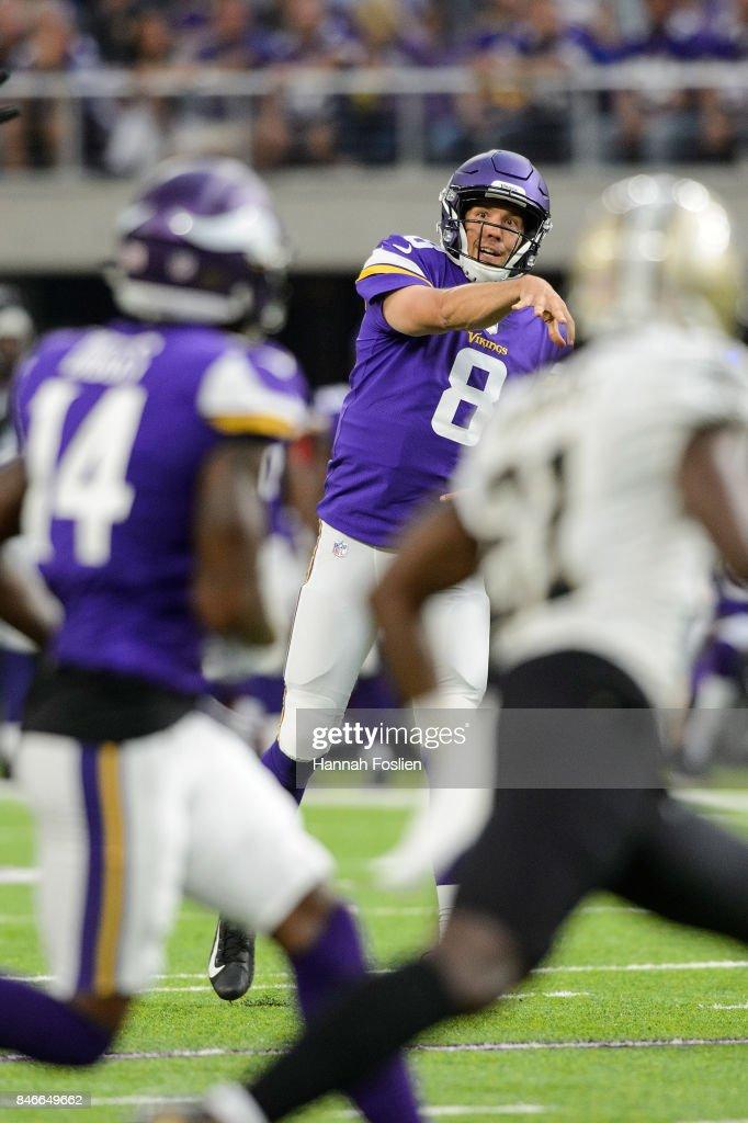 New Orleans Saints v Minnesota Vikings : News Photo