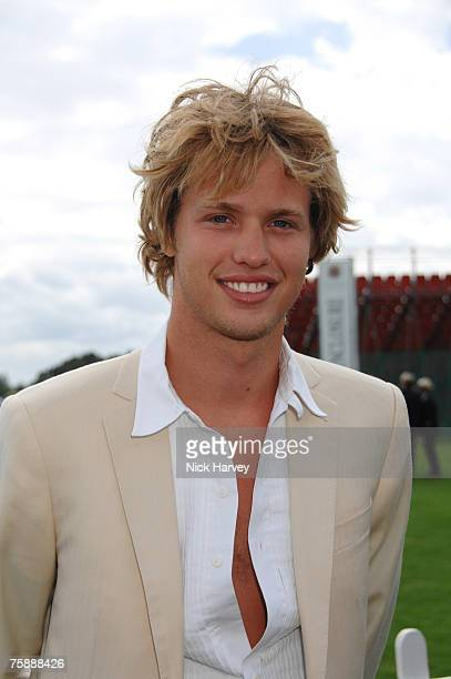 Sam Branson at the Cartier International Polo at the Guards Polo Club on July 29 2007 in Windsor England