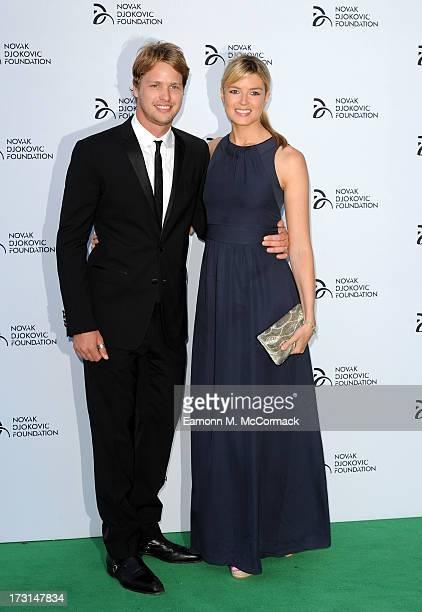 Sam Branson attends the Novak Djokovic Foundation London gala dinner at The Roundhouse on July 8 2013 in London England