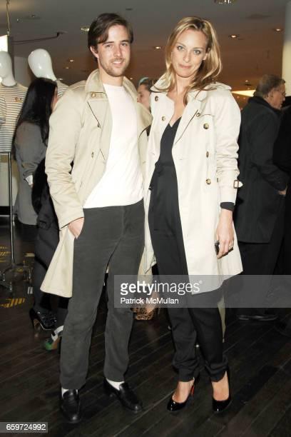 Sam Broekema and Jessica Diehl attend BARNEYS NEW YORK Celebrates RICHARD CHAI BEN JONES TShirt collaboration to benefit The ELIZABETH GLAZER...