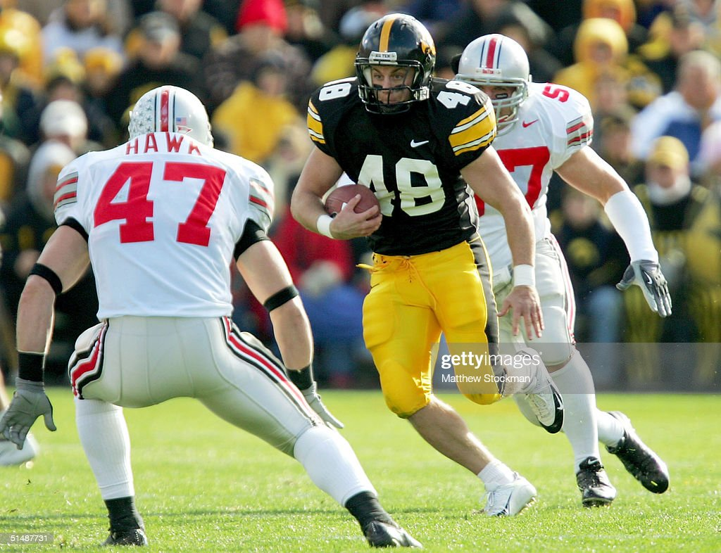 Iowa Hawkeyes v Ohio State Buckeyes : News Photo