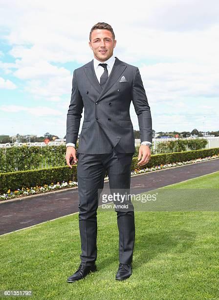 Sam Burgess attends Golden Rose Day at Rosehill Gardens on September 10 2016 in Sydney Australia