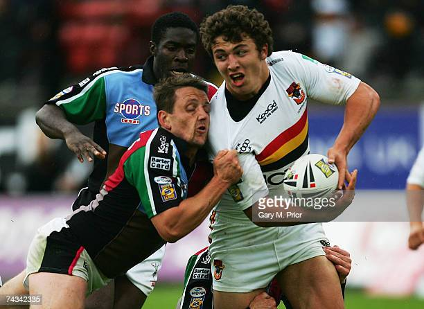 Sam Burgess of Bradford Bulls in action during the Engage Super League match between Bradford Bulls and Harlequins RL at the Grattan Stadium on May...