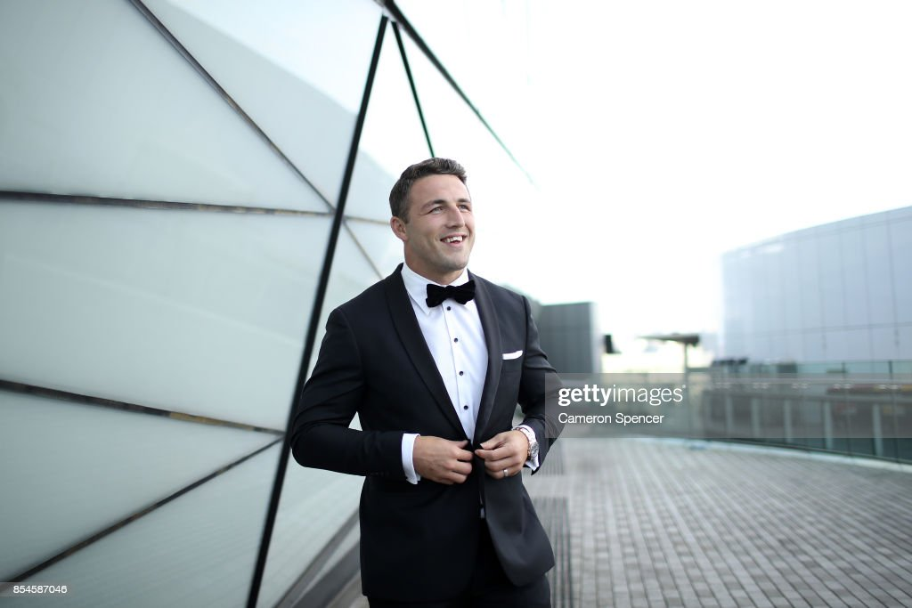 Sam Burgess of the Rabbitohs attends the M.J. Bale Dally M League Of Gentlemen at The Star on September 27, 2017 in Sydney, Australia.