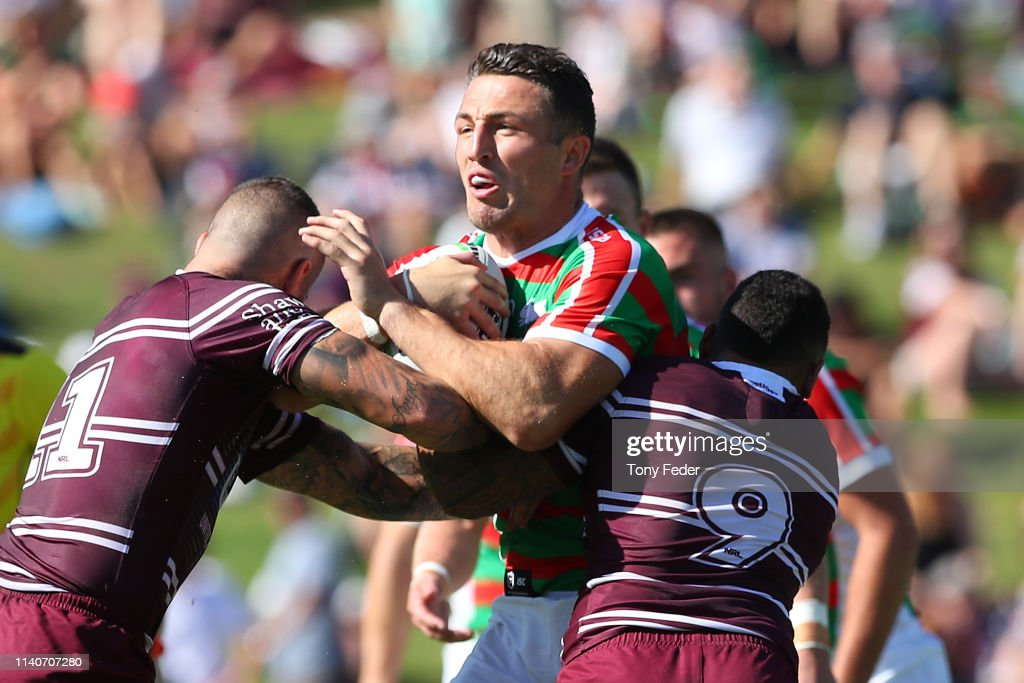 NRL Rd 4 - Sea Eagles v Rabbitohs : News Photo