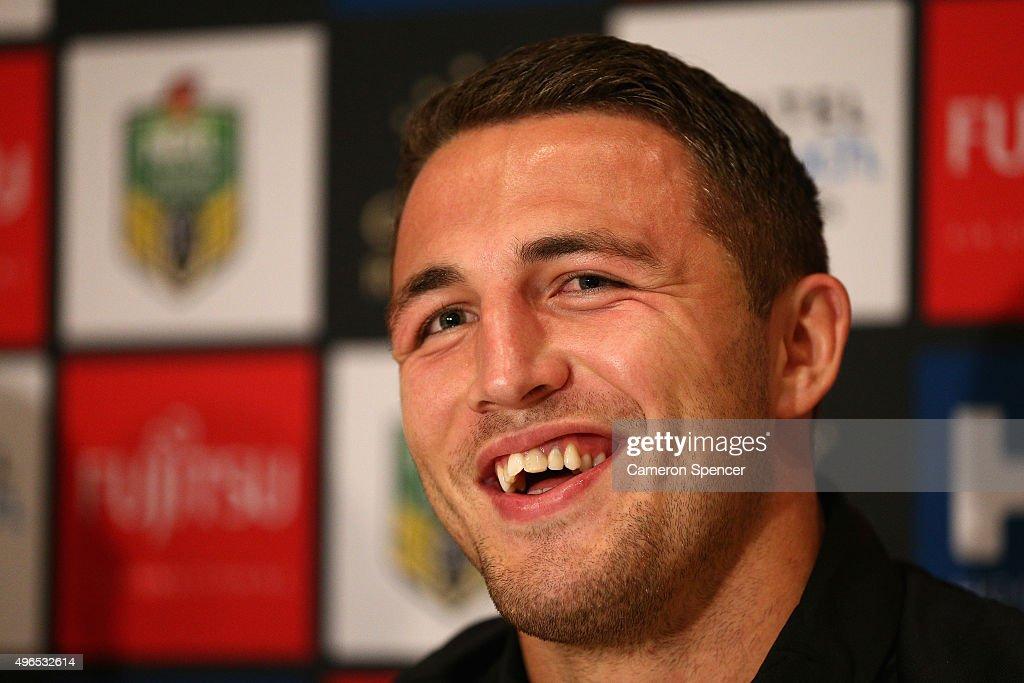 Sam Burgess Arrives In Sydney