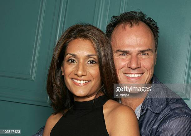 Sam Cagnina and Samantha Singh during 2004 Toronto International Film Festival Three of Hearts Portraits at Intercontinental in Toronto Ontario Canada