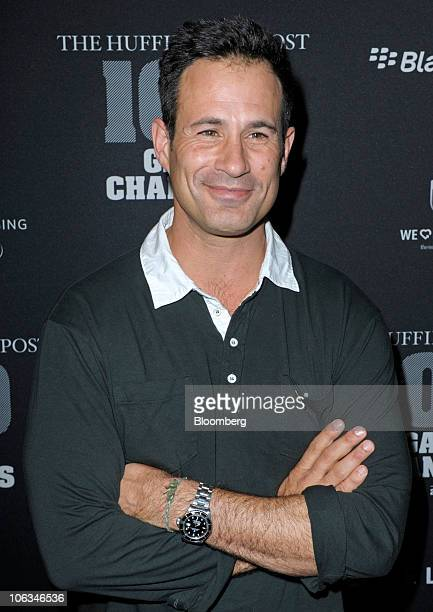 Sam Calagione founder of Dogfish Head Brewery attends the Huffington Post 2010 Game Changers event in New York US on Thursday Oct 28 2010 Sean Penn...