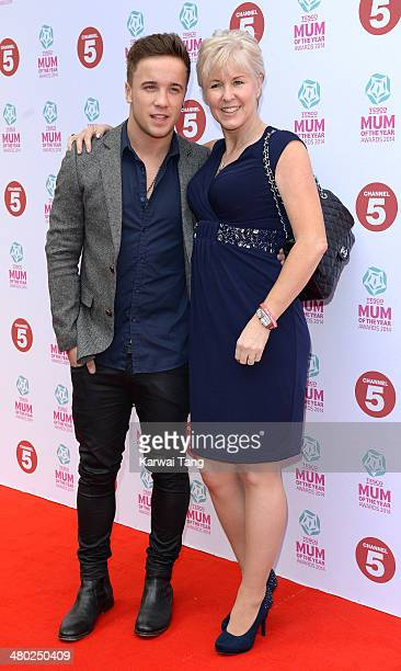 Sam Callahan attends the Tesco Mum of the Year awards at The Savoy Hotel on March 23 2014 in London England