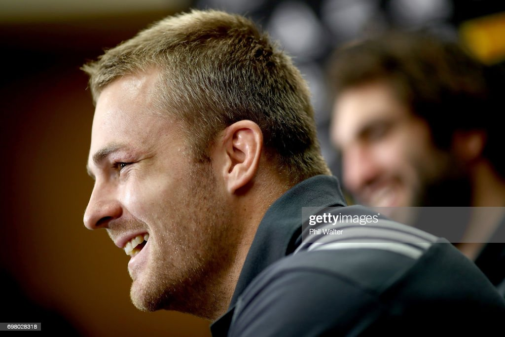 New Zealand All Blacks Press Conference