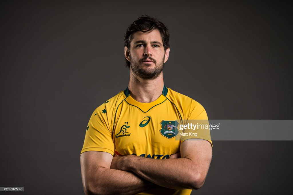 2017 Australian Wallabies Portrait Session : News Photo