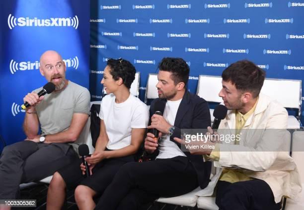 Sam Catlin Ruth Negga Dominic Cooper and Joseph Gilgun SiriusXM's Entertainment Weekly Radio Broadcasts Live From Comic Con in San Diego at Hard Rock...