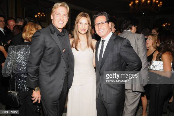 Sam Champion Gayle Sobel and Dr Howard Sobel attend THE SKIN CANCER FOUNDATION's Skin Sense Awards Gala at The Pierre on October 6 2009 in New York