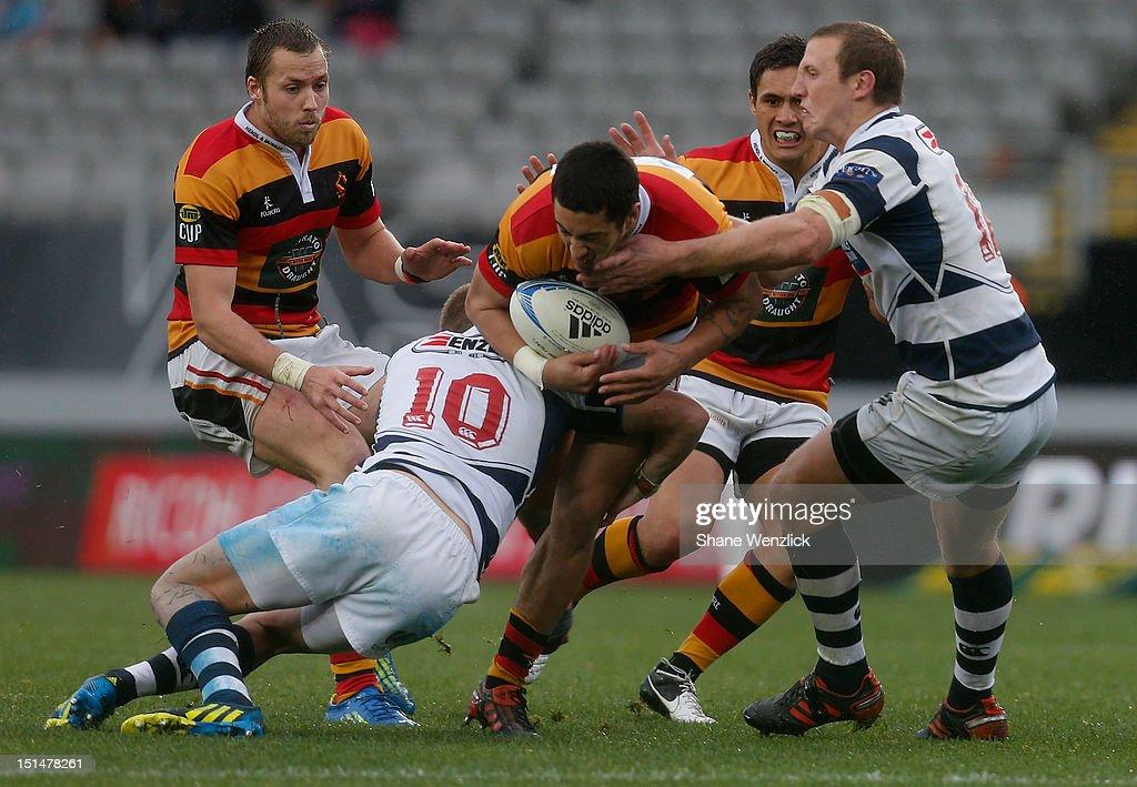 ITM Cup Rd 5 - Auckland v Waikato : News Photo