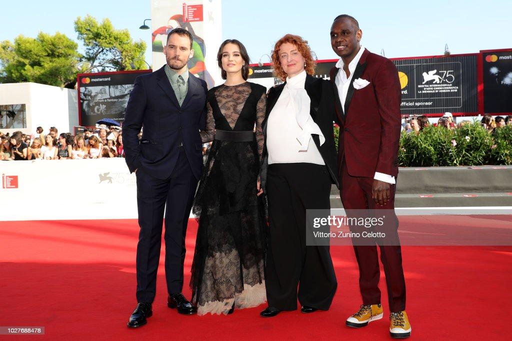 ITA: The Nightingale Red Carpet Arrivals - 75th Venice Film Festival