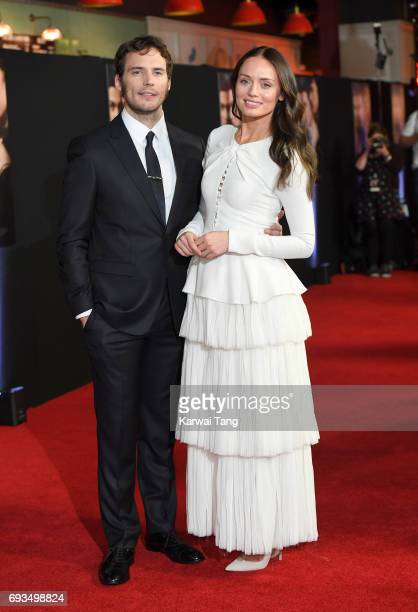 Sam Claflin and Laura Haddock attend the World Premiere of My Cousin Rachel at Picturehouse Central on June 7 2017 in London England