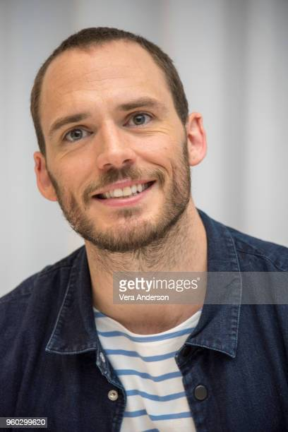 Sam Claflin at the Adrift Press Conference at The RitzCarlton Hotel on May 18 2018 in Marina Del Rey California