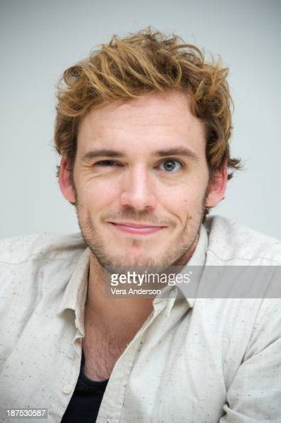 "Sam Claflin at ""The Hunger Games: Catching Fire"" Press ..."