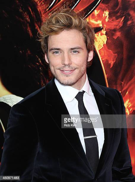 Sam Claflin attends a special screening of The Hunger Games Catching Fire on November 20 2013 in New York City