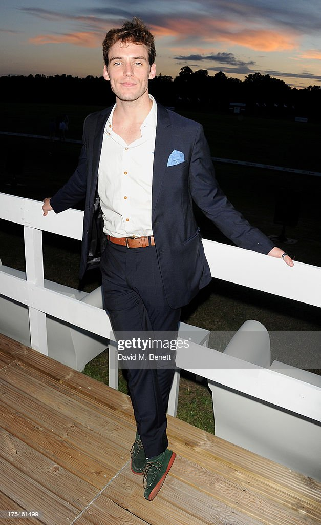 Sam Claflin attends day 1 of the Audi Polo Challenge at Coworth Park Polo Club on August 3, 2013 in Ascot, England.