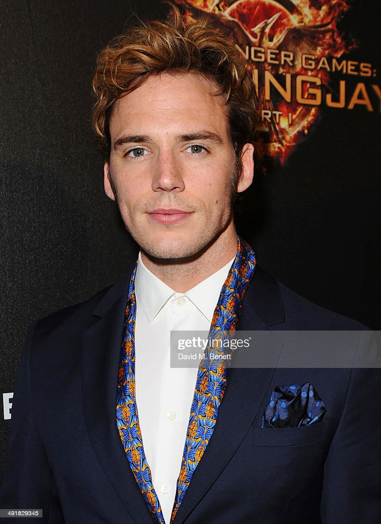 Sam Claflin attends Lionsgate's 'The Hunger Games: Mockingjay Part 1' party at a private villa on May 17, 2014 in Cannes, France.