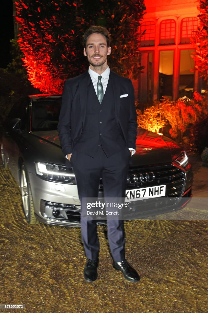 Sam Claflin attends the Audi A8 Launch at Cowdray House on November 24, 2017 in Midhurst, England.