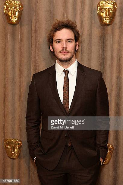 Sam Claflin attends the BAFTA Breakthrough Brits party at Burberry on October 27 2014 in London England