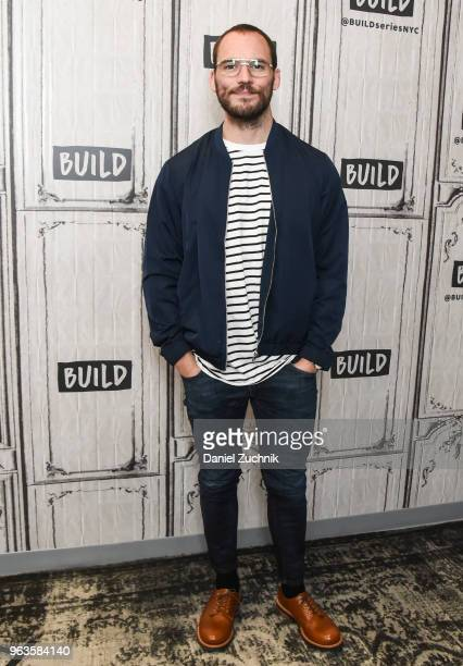 Sam Claflin attends the Build Series to discuss the new film 'Adrift' at Build Studio on May 29 2018 in New York City